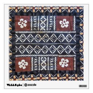Fiji Tapa Cloth Wall Decal