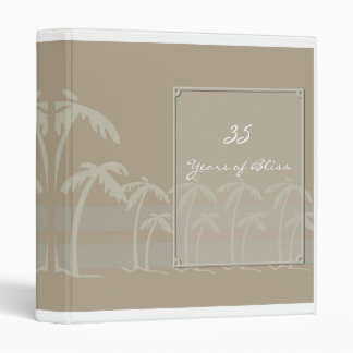 Fiji Tropical Anniversary Album Binder