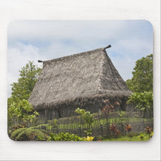 Fiji, Viti Levu Island. Polynesian Cultural Mouse Pad