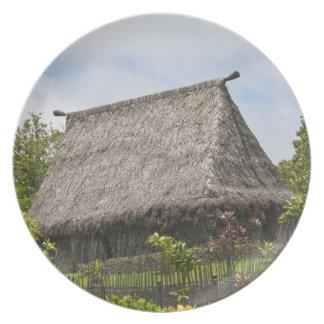 Fiji, Viti Levu Island. Polynesian Cultural Plate