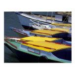 Fiji, Viti Levu, Lautoka, botes pequeños en puerto Postal