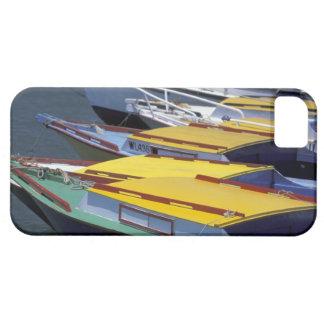 Fiji, Viti Levu, Lautoka, Small boats in Port of iPhone 5 Covers