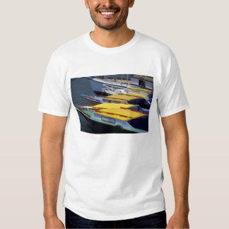 Fiji, Viti Levu, Lautoka, Small boats in Port of T-Shirt