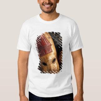 Fiji, Viti Levu Masks at a town market. T-Shirt