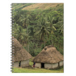 Fiji, Viti Levu, Navala, casas tradicionales de Bu Cuadernos
