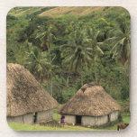 Fiji, Viti Levu, Navala, casas tradicionales de Bu Posavaso