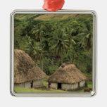 Fiji, Viti Levu, Navala, casas tradicionales de Adornos De Navidad