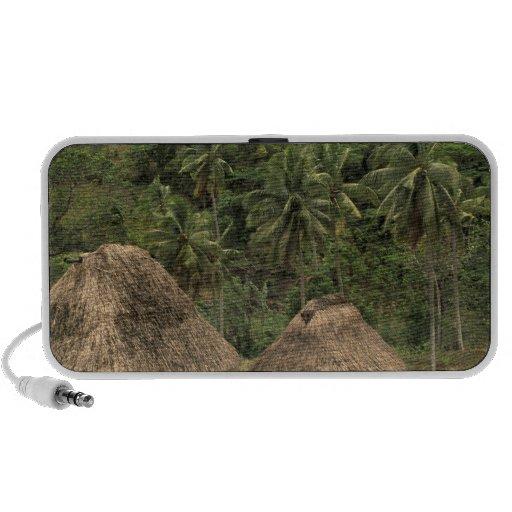 Fiji, Viti Levu, Navala, Traditional Bure houses Mp3 Speakers