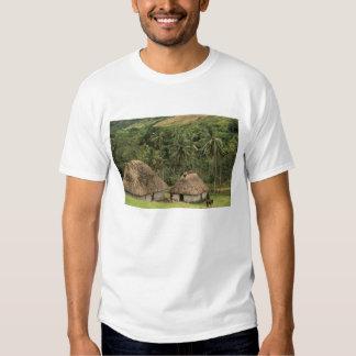 Fiji, Viti Levu, Navala, Traditional Bure houses T-Shirt