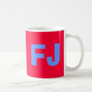 Fiji* with bold FJ Coffee Mug