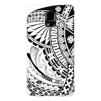 Fijian Masi Tatau (Chestpiece) Galaxy Note 4 Case