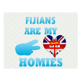 Fijians are my Homies Postcard