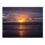 Fijiian Sunset Postcards