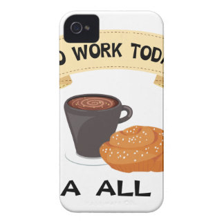 fika all day, no work today Case-Mate iPhone 4 case