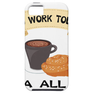 fika all day, no work today iPhone SE/5/5s case
