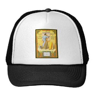 Fil de Lin Marque de Fabrique Deposee Label Trucker Hat