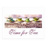 Fila 0001 de la postal de las tazas de té