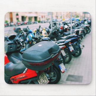Fila Barcelona de los motoristas Mouse Pad