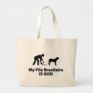 Fila Brasileiro Bolsa Tela Grande