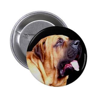 Fila Brasileiro Dog button