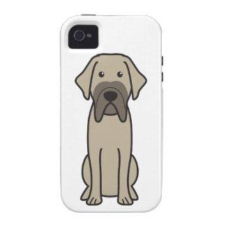 Fila Brasileiro Dog Cartoon iPhone 4/4S Cover