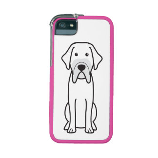 Fila Brasileiro Dog Cartoon iPhone 5/5S Cases