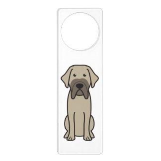 Fila Brasileiro Dog Cartoon Door Hanger
