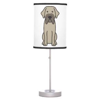 Fila Brasileiro Dog Cartoon Desk Lamp