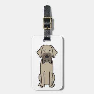 Fila Brasileiro Dog Cartoon Tag For Luggage