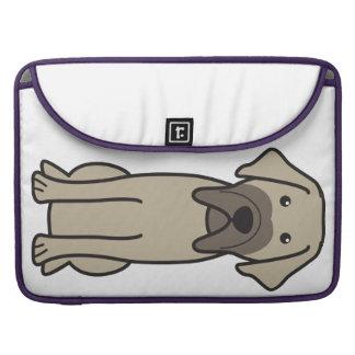 Fila Brasileiro Dog Cartoon Sleeve For MacBook Pro
