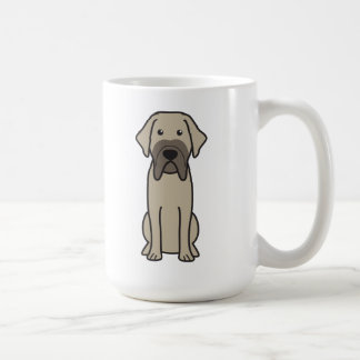 Fila Brasileiro Dog Cartoon Mug