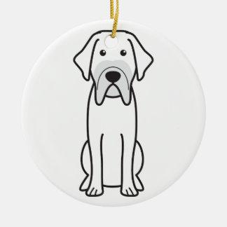 Fila Brasileiro Dog Cartoon Ornaments