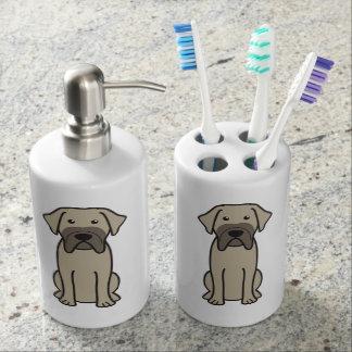Fila Brasileiro Dog Cartoon Toothbrush Holders