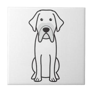 Fila Brasileiro Dog Cartoon Tiles