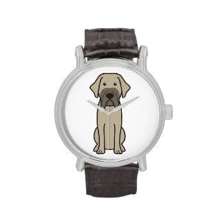 Fila Brasileiro Dog Cartoon Watches