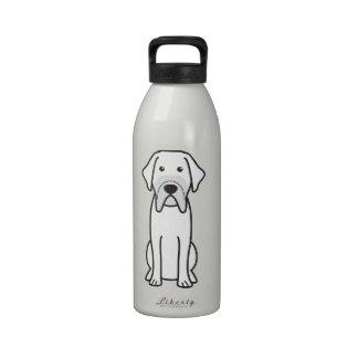Fila Brasileiro Dog Cartoon Reusable Water Bottles