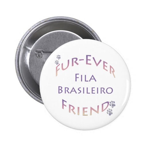Fila Brasileiro Furever Pin