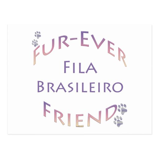 Fila Brasileiro Furever Postal