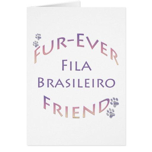 Fila Brasileiro Furever Tarjeton