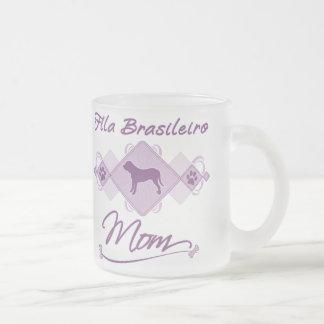 Fila Brasileiro Mom Frosted Glass Coffee Mug