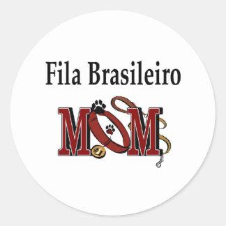 Fila Brasileiro Mom Sticker