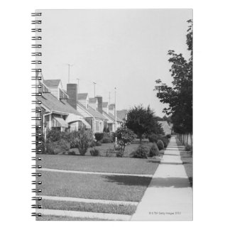 Fila de casas notebook