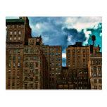 Fila de edificios en New York City Postales