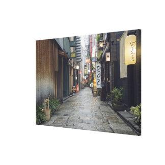 Fila de Houzenji Impresión En Lona