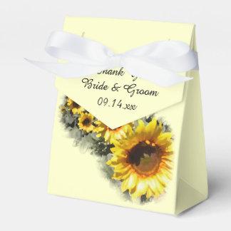 Fila de la caja del favor del boda del jardín de cajas para detalles de boda