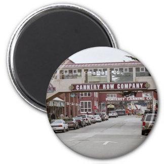 Fila de la fábrica de conservas imán redondo 5 cm