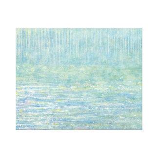 Fila de la tolerancia del iris su abrigo de la lon impresion de lienzo