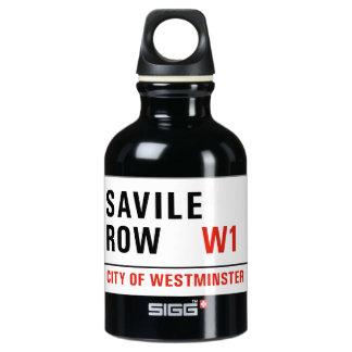 Fila de Savile, placa de calle de Londres
