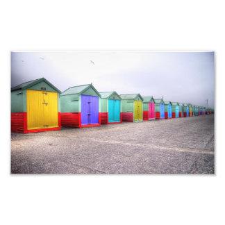 Fila del arco iris fotografía