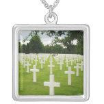 Fila del cementerio nacional de Arlington de las l Joyería